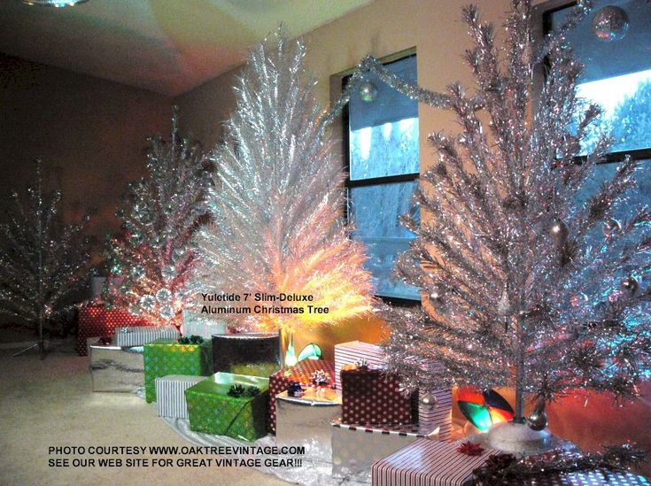 Aluminum Christmas Trees -