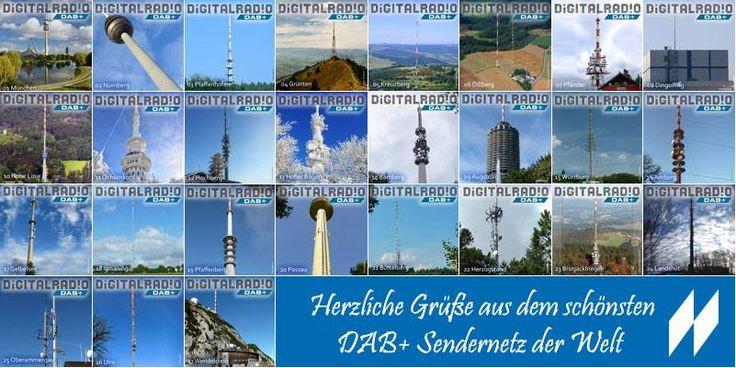 Jetzt ist unsere Serie komplett! Alle 27 Sendestandorte von denen wir aktuell DAB+ für Dich in Bayern ausstrahlen haben wir nun vorgestellt. Ein herzliches Dankeschön an alle die mitgeholfen haben die Serie zusammenzustellen!