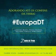 Mais uma novidade do Diante do Trono é a turnê #EuropaDT ! Fique ligado :)