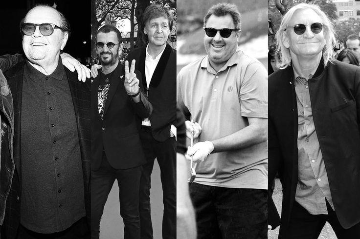 PAUL ON THE RUN: Paul McCartney, Ringo Starr dine with fellow music...
