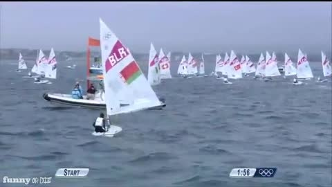 Incredible Olympic Sailing Commentary