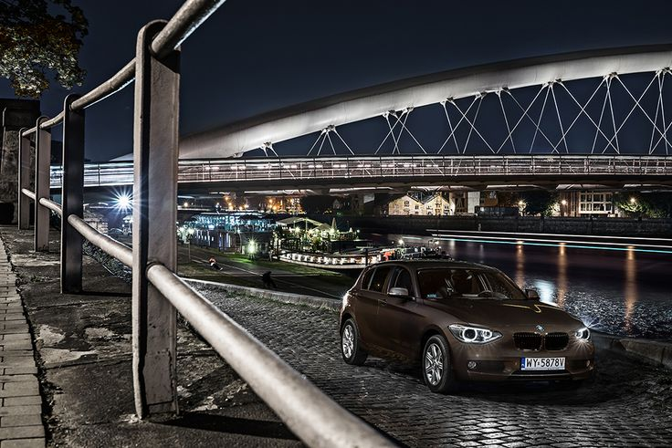 BMW 1 series is not so premium, but the shoot certainly is. #BMW #1series