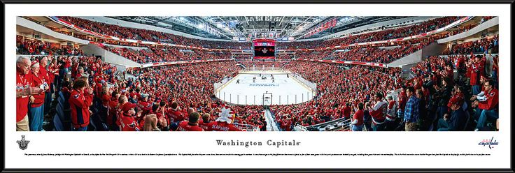 Washington Capitals Panoramic - Verizon Center Picture