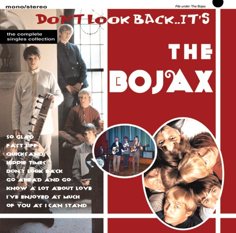 """THE BOJAX  """"Dont Look Back""""  Complete Recordings 10"""" LP"""