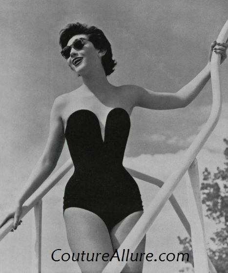 25 Best Ideas About Vintage Swim On Pinterest 1950s Bathing Suit Vintage Beach Photos And