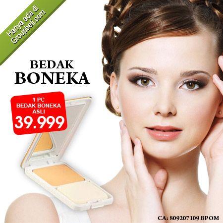 Wajah tampak mulus dan halus serta putih berseri alami dengan Bedak Boneka Asli hanya Rp 39.999 http://groupbeli.com/view.php?id=734