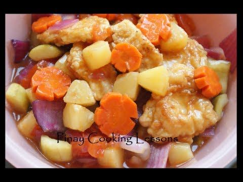 Sweet and Sour Fish Fillet - YouTube