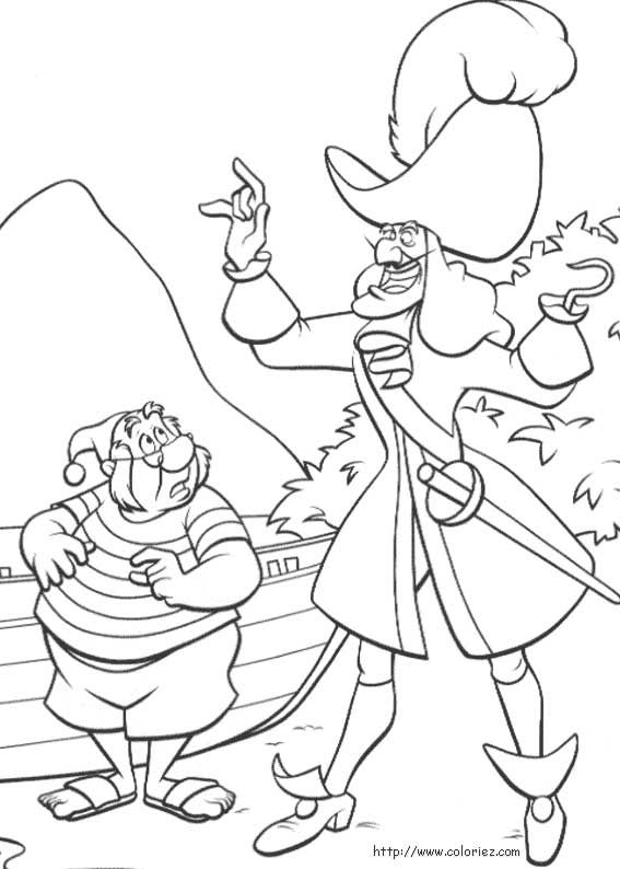 disney coloring page peter pan