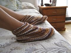 Ravelry: Desert Boots and Slippers pattern by Elise Brand