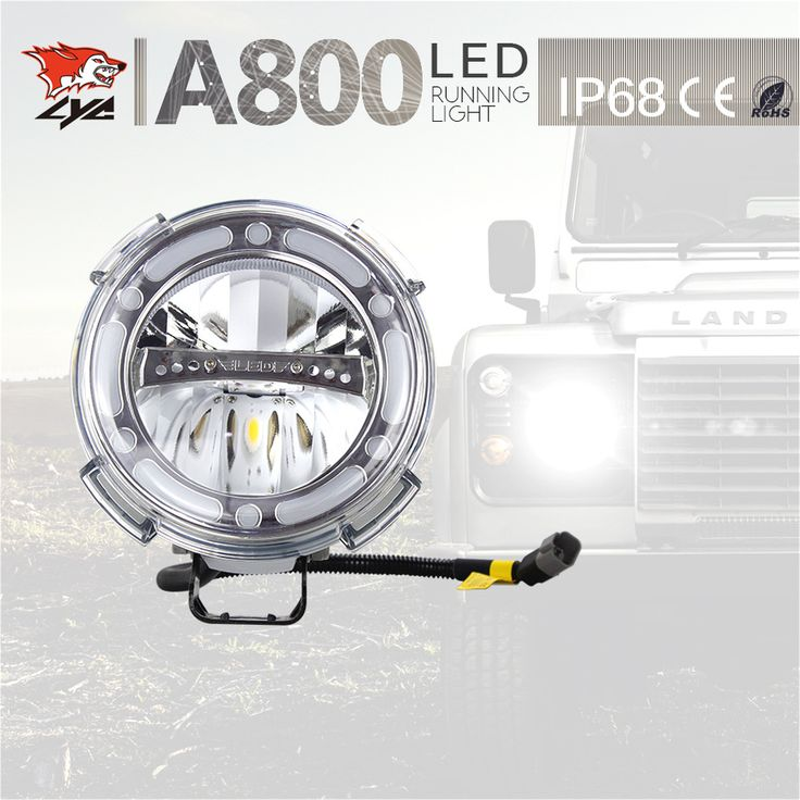 Top quality headlights offroad driving light 7 inch 40w led work light