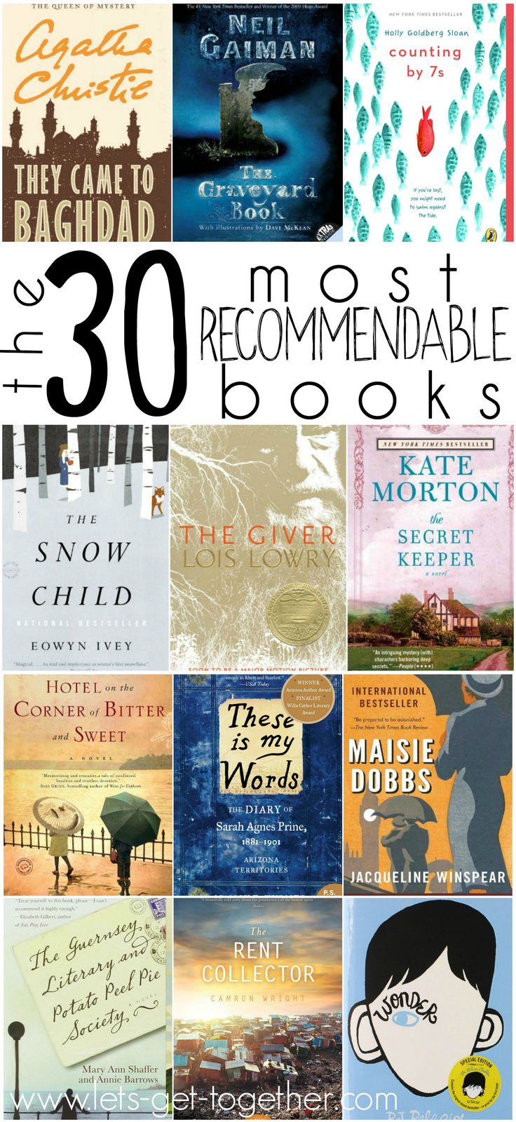Another thirty book recommendations! Looks like there's some goodies in here.