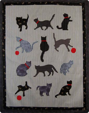 19 best applique images on Pinterest | Cats, Kitty cats and DIY : applique cat quilt patterns - Adamdwight.com