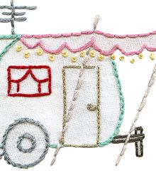 Cool vintage embroidery patterns.