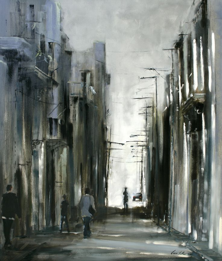 By Gavin Collins Old Havana oil on canvas