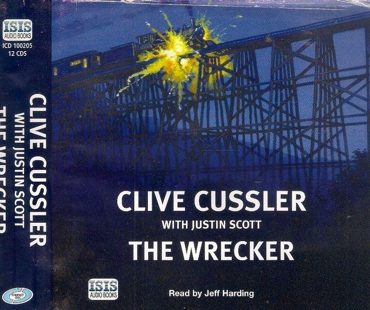 Clive Cussler with Justin Scott THE WRECKER AUDIO UNABRIDGED (12 CDs)