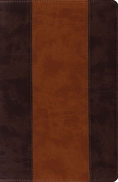 ESV New Classic Reference Bible-Brown/Cordovan TruTone