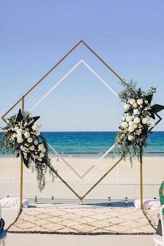 39 Gorgeous Beach Wedding Decoration Ideas
