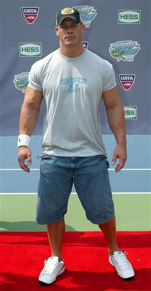 John Cena, a man with muscles and a Heart why do they not exist but in my dreams???