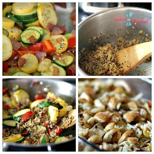 Quinoa & Veggie Gratin: Dishes Perfect, Vegi Gratin, Yummy Vegi, Veggies Qunioa, Bake, Dinners, Vegi Dishes, Veggies Gratin, Brunch