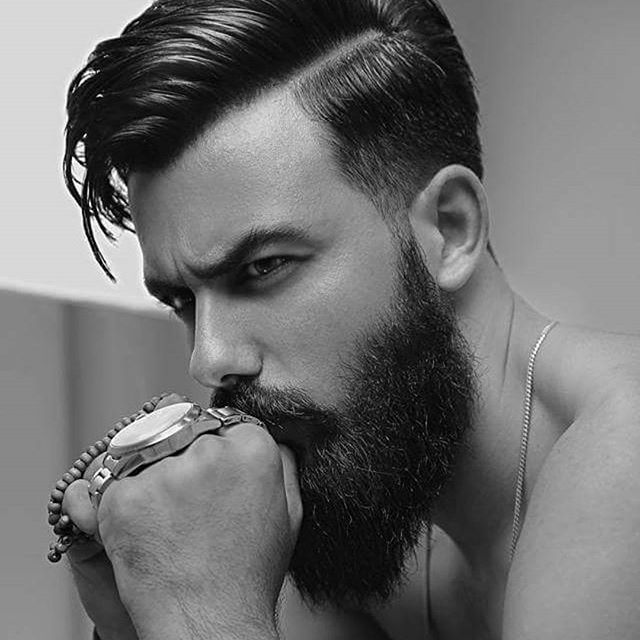 best 25 beards and hair ideas on pinterest hair and beard styles beard styles and beard. Black Bedroom Furniture Sets. Home Design Ideas