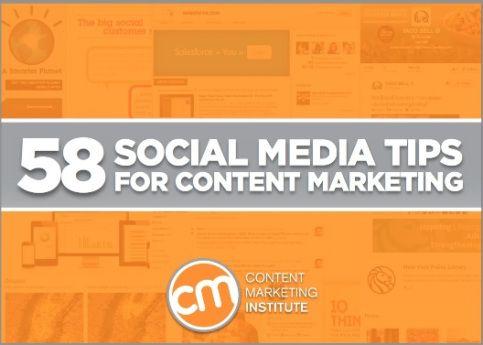 Content Marketing Institute<title>58 Social Media Ideas for eBook Content Marketing
