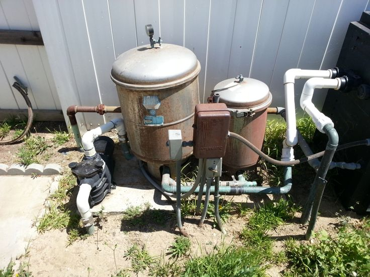 Really Old Super Ii Pump 2 Stainless Steel Filter Tanks