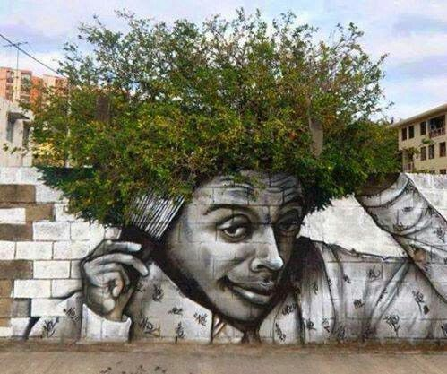 Amazing street artwork!