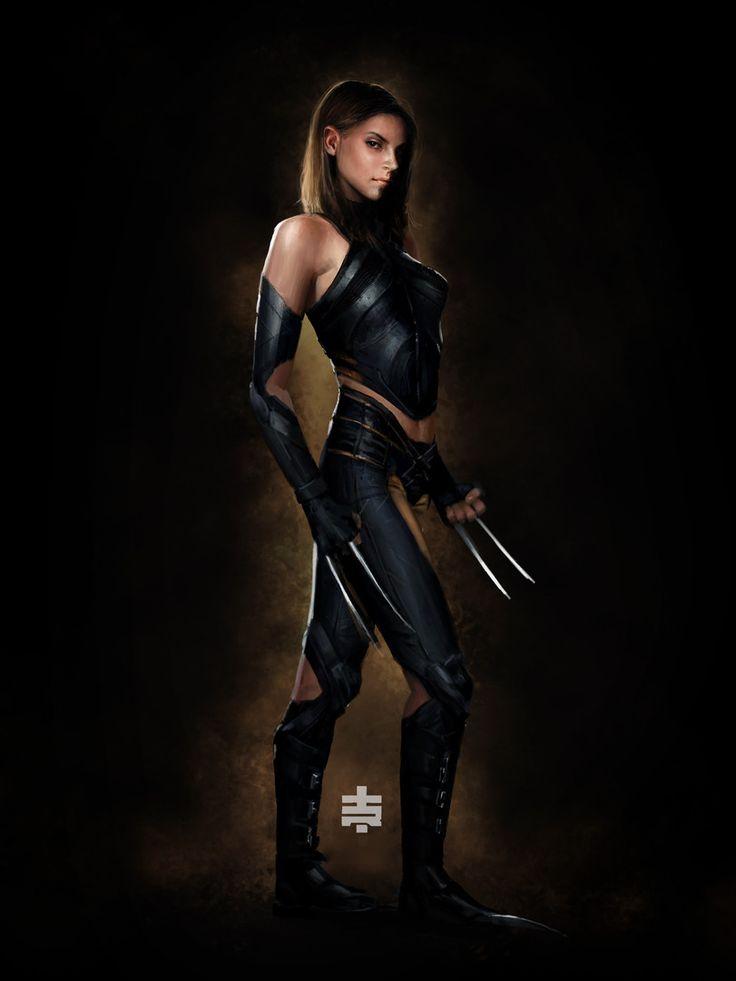Tiago Datrinti,artist,X-23,Икс-23, Росомаха, Лаура Кинни,X-Men,Люди-Икс,Marvel,Вселенная Марвел,фэндомы