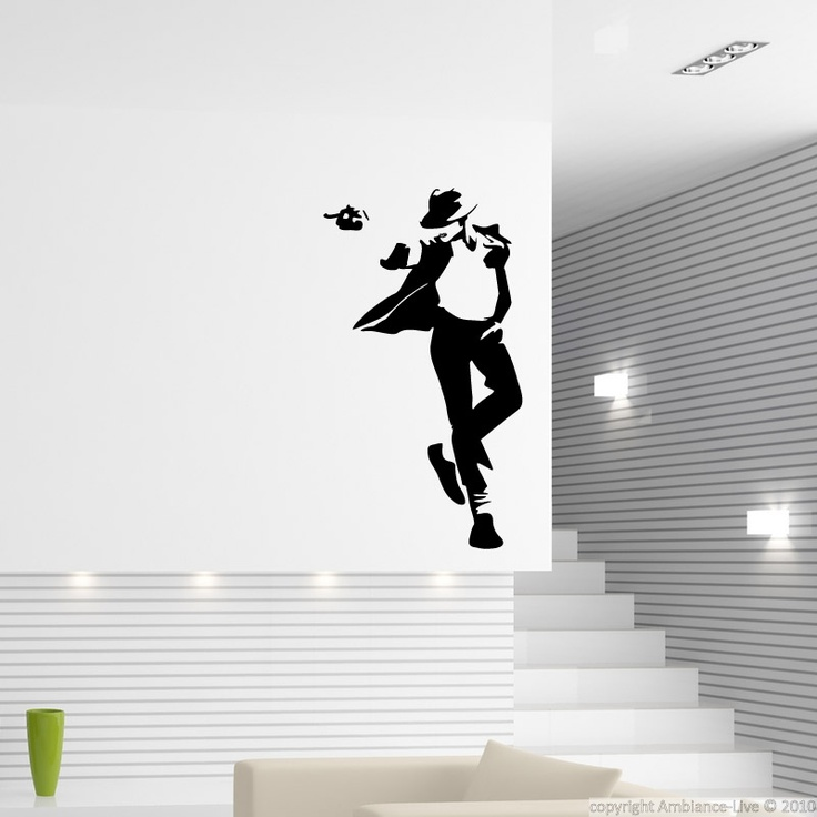 What do you think having the King of Pop in your house in wall decal, full size?  #decals #stickers #wall