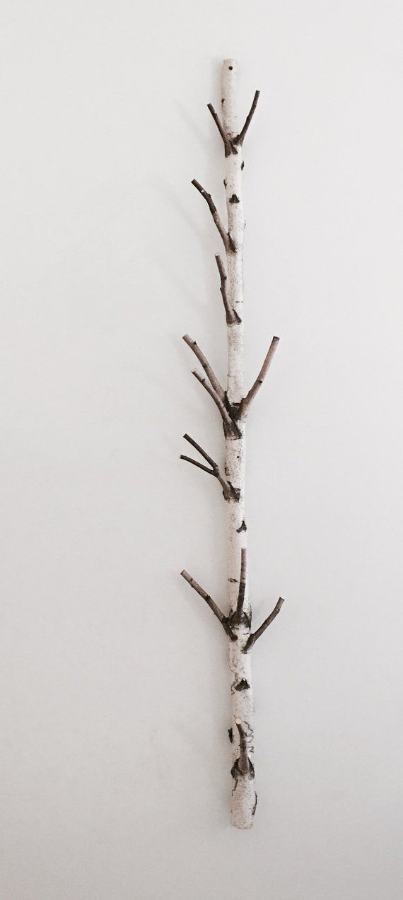 White Birch Tree Coat Rack Birch Branch Birch Pole Birch Tree Coat Rack Coat Tree White Birch Trees