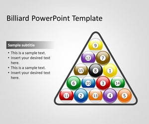 Free Billiard PowerPoint Template is a free PowerPoint template that you can download for presentations