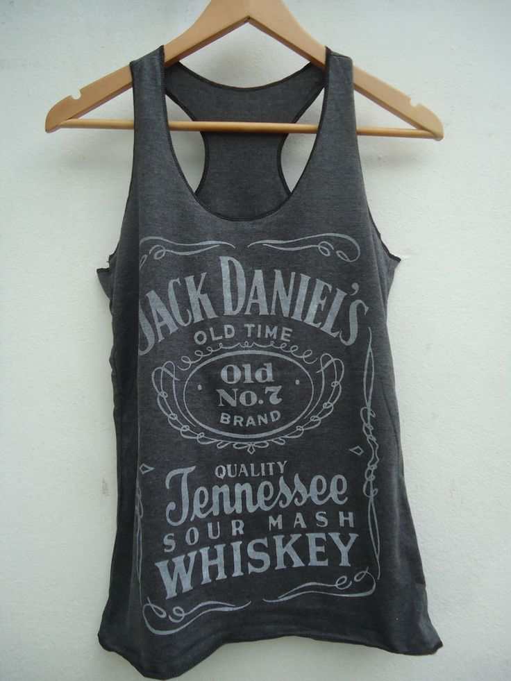 Jack Daniel's  Old Time No. 7 Whisky Women Vest Tank by rushtar, $8.00
