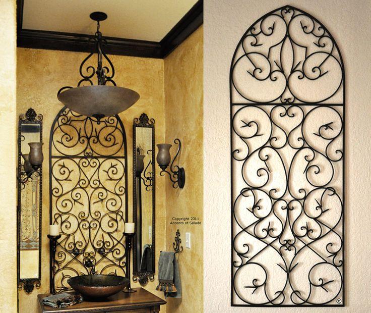 Tuscan Wall Decor Bathroom