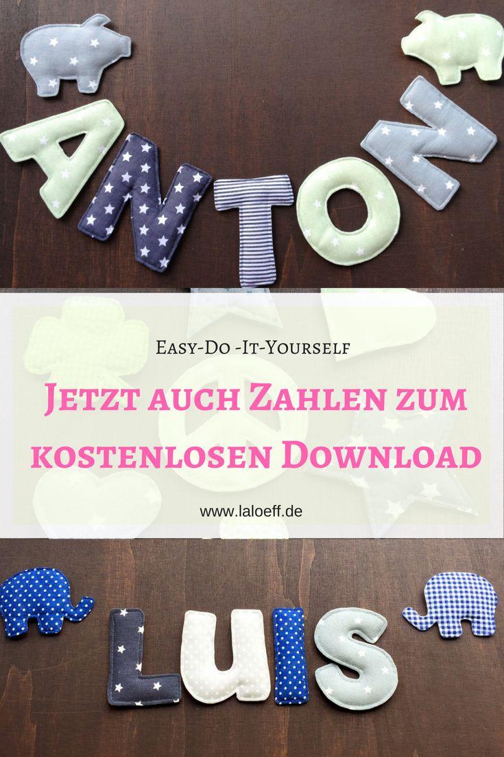 Für alle die schon eine Anleitung gekauft haben, gibt es jetzt Zahlen und noch ein paar andere Schablonen zum kostenlosen Download.♥ www.laloeff.de/tutorial