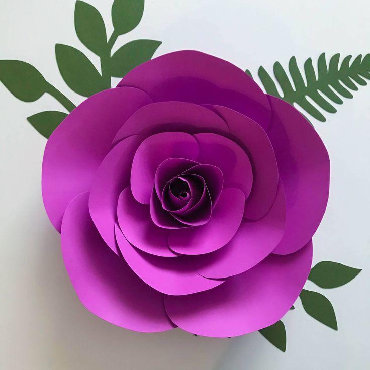 Download 1004 best DIY Giant Paper Flower Templates Etsy Listing ...