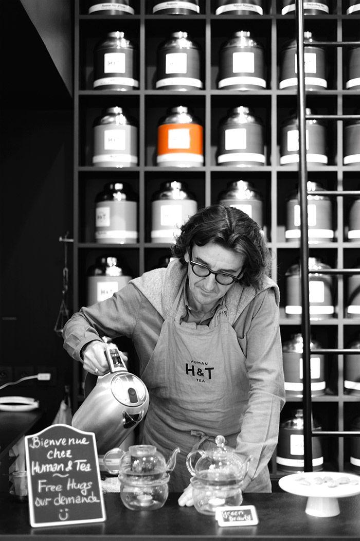 Le thé dans tous ses états à la boutique Human & Tea de Lyon en Presqu'île