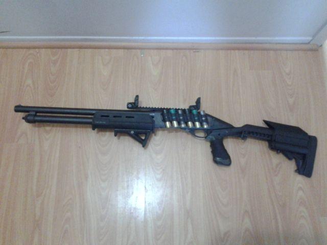 Remington 870 with Knoxx Stock, Knoxx Powerpak, Magpul ...