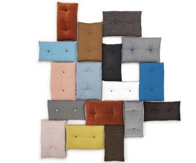 """Blosh"" pillows by Marike Andeweg for Designonstock"
