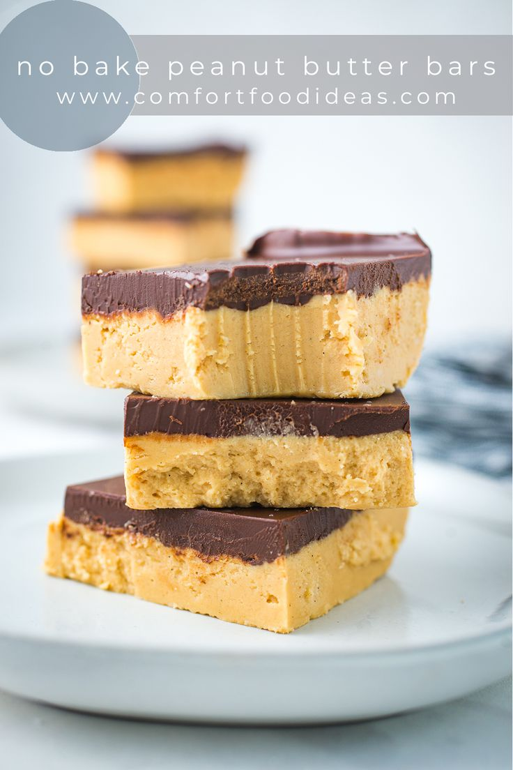 Jul 14, 2020 – These No Bake Peanut Butter Bars are an old family favorite. They take minutes to put together. The harde…
