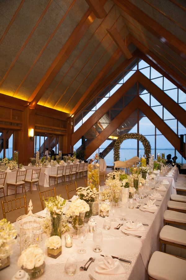 best wedding reception halls in nyc%0A Rustic White Reception Setup   Photo  Rock Paper Scissors