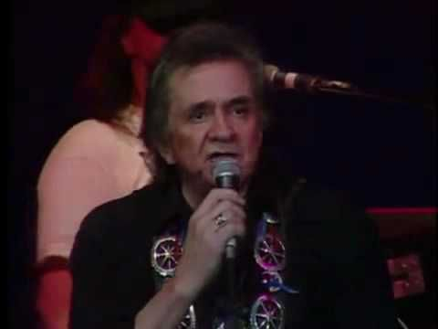 "Johnny Cash & Willie Nelson perform ""Ghost Riders in the Sky"" (Stan Jones song originally recorded by Burl Ives)"