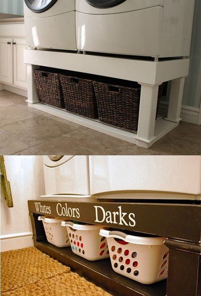 40 Super Clever Laundry Room Storage Ideas