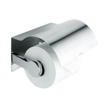 Singulier® Covered Toilet Tissue Holder    Features:    Premium metal construction for durability and reliability  KOHLER finishes resist corrosion and tarnishing  Tools and drilling template included for easy installation  Solid brass construction  No visible fixings  Coordinates with Singulier tapware
