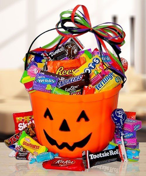 29 best halloween gift baskets images on pinterest halloween with all the candy theyre craving plus gourmet treats our halloween gift baskets are scarily amazing send your favorite goblins our halloween baskets negle Gallery