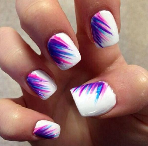 Cute feather design