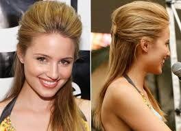 Resultado de imagem para penteados para formatura cabelos longos com topete