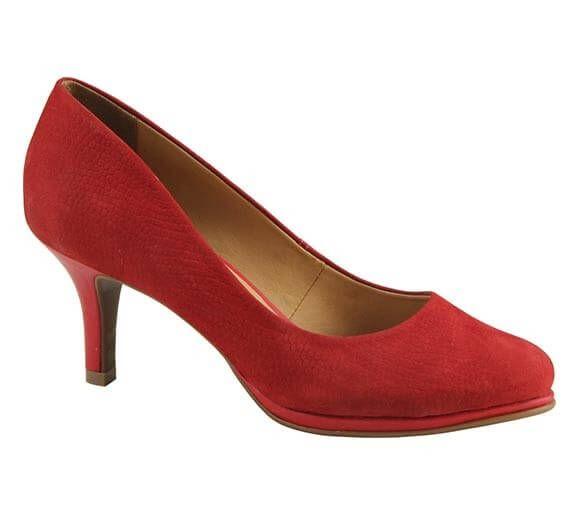Sapato scarpin em couro nobuck | Sapatos | Bottero Calçados