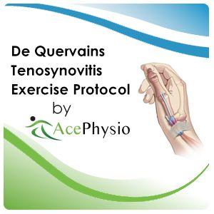 De Quervains Tenosynovitis Exercises