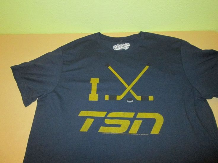 TSN HOCKEY NETWORK  T Shirt XXL 2XL - Blue - Old Navy Collectabilitees NHL #OldNavyCollectabilitees #GraphicTee