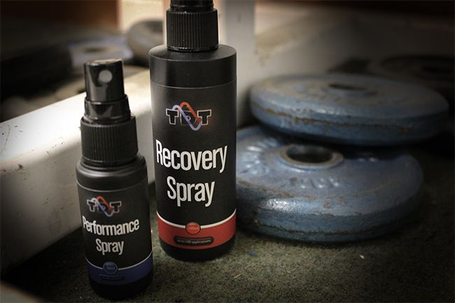 Transdermal Technology :: Performance Spray. Blend of caffeine, taurine, guarana & ginseng that acts on the body and mind in minutes, in just a few sprays. More effective and cheaper than a pre-workout coffee. It also leaves the bloodstream within 2 hours, unlike other oral products that keep you wired and jittery for up to 6 hours.